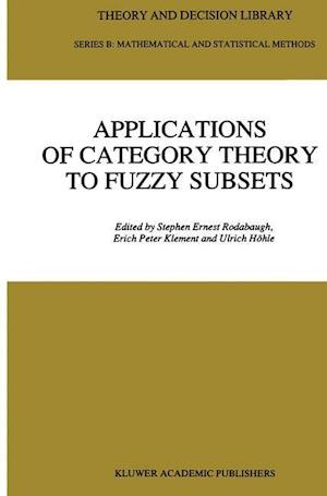 Applications of Category Theory to Fuzzy Subsets