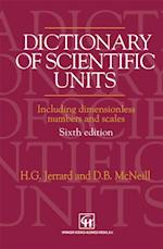 Dictionary of Scientific Units