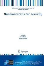 Nanomaterials for Security (NATO Science for Peace and Security Series - A: Chemistry And Biology)