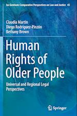 Human Rights of Older People (Ius Gentium: Comparative Perspectives on Law and Justice, nr. 45)