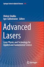 Advanced Lasers (Springer Series in Optical Sciences, nr. 193)