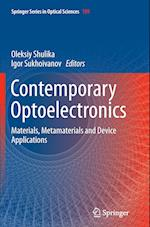 Contemporary Optoelectronics (Springer Series in Optical Sciences, nr. 199)