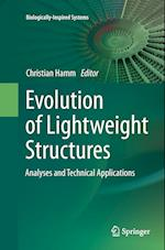 Evolution of Lightweight Structures (Biologically-inspired Systems, nr. 6)