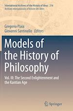 Models of the History of Philosophy (International Archives of the History of Ideas Archives Inte, nr. 216)