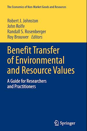 Benefit Transfer of Environmental and Resource Values