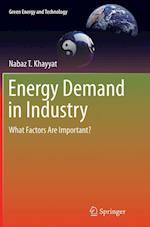 Energy Demand in Industry (Green Energy and Technology)