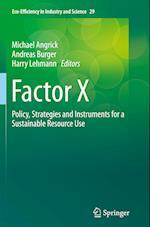 Factor X (Eco-efficiency in Industry & Science, nr. 29)