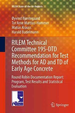 RILEM Technical Committee 195-DTD Recommendation for Test Methods for AD and TD of Early Age Concrete : Round Robin Documentation Report: Program, Tes