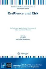 Resilience and Risk (NATO Science for Peace and Security Series C: Environmental Security)