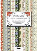 Art Nouveau: Label & Sticker Book af Pepin Van Roojen