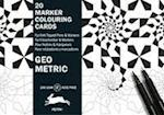 Geometric (Marker Colouring Sheets Book)