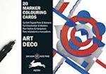Art Deco (Marker Colouring Sheets Book)