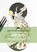 Art Deco (Giant Artists Colouring Book)