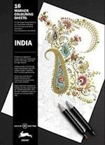 India (Marker Colouring Sheets Book)