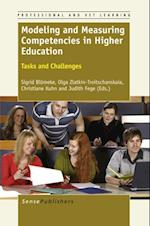 Modeling and Measuring Competenciesin Higher Education (Professional and VET learning)
