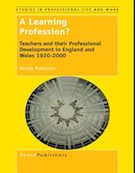Learning Profession? (Studies in Professional Life and Work)