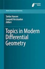 Topics in Modern Differential Geometry (Atlantis Transactions in Geometry, nr. 1)