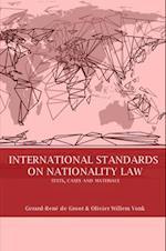 International Standards on Nationality Law