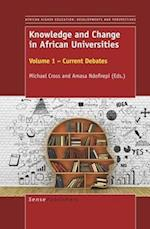 Knowledge and Change in African Universities