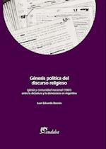 Génesis política del discurso religioso