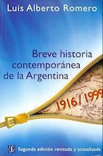 Breve Historia Contemporanea de la Argentina af Luis Alberto Romero
