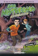 El caso de la fiesta fétida y otros misterios/ The case of the fetid feast and other mysteries (Los Casos Misteriosos De Max Finder Max Finder Mystery Collected Casebook)