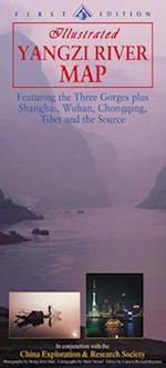 Yangzi River Map (Odyssey Guides)