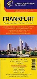 Frankfurt (Cartographia City Maps, nr. 6792)