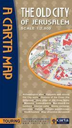 Carta Map The Old City of Jerusalem (Carta Map)