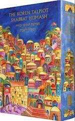 The Koren Talpiot Shabbat Humash (compact Emanuel)