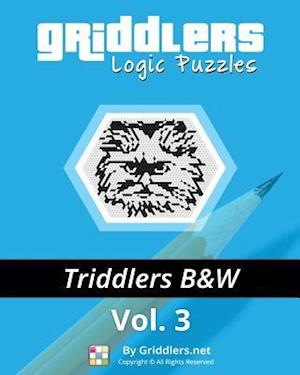 Bog, paperback Griddlers Logic Puzzles - Triddlers Black and White af Griddlers Team