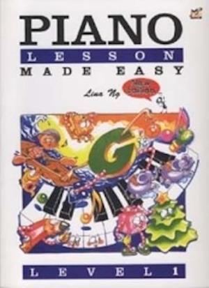 Bog, løsblade Piano Lessons Made Easy af Lina Ng