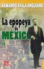 La Epopeya de Mexico II af Armando Ayala Anguiano