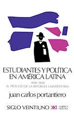 Estudiantes y Politica En America Latina af Juan Carlos Portantiero