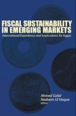 Fiscal Sustainability in Emerging Markets