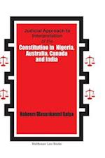 Modern Nigerian Constitutional Law: Practices, Principles and Precedents