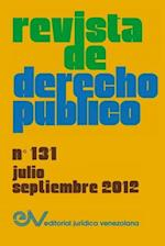 Revista de Derecho Publico (Venezuela), No. 131, Julio-Septiembre 2012