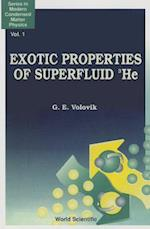 Exotic Properties of Superfluid 3He (Series in Modern Condensed Matter Physics, nr. 1)