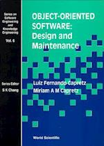 Object-Oriented Software (Series on Software Engineering and Knowledge Engineering, nr. 6)