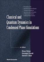 Classical and Quantum Dynamics in Condensed Phase Simulations