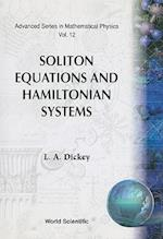 Soliton Equations and Hamilton Systems (Advanced Series in Mathematical Physics, nr. 12)