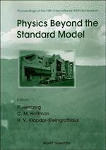 Physics Beyond the Standard Model (High Energy Physics)