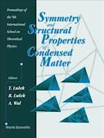 Symmetry and Structural Properties of Condensed Matter