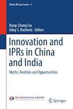 Innovation and IPR in China and India af Kung-Chung Liu