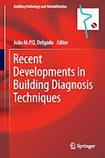 Recent Developments in Building Diagnosis Techniques af Joao M. P. Q. Delgado