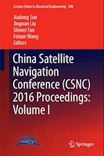China Satellite Navigation Conference (CSNC) 2016 Proceedings: Volume I (Lecture Notes in Electrical Engineering)