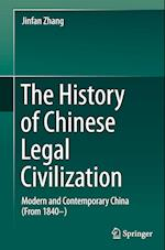 The History of Chinese Legal Civilization