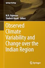 Observed Climate Variability and Change Over the Indian Region (Springer Geology)