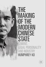 The Making of the Modern Chinese State