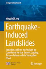 Earthquake-Induced Landslides : Initiation and run-out analysis by considering vertical seismic loading, tension failure and the trampoline effect